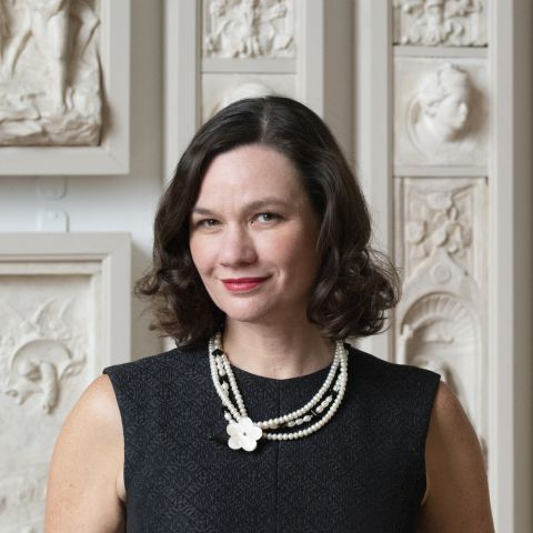 Dr. Anna Marley, Curator of Historical American Art and Director for the Center of the Study of the American Artist